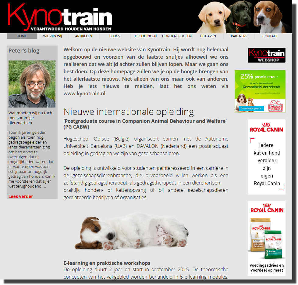website kynotrain peter beekman